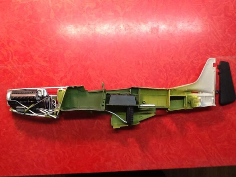 AIRFIX NORTH AMERICAN P 51 D MUSTANG 1/24ème Ref 14001 Airfi121