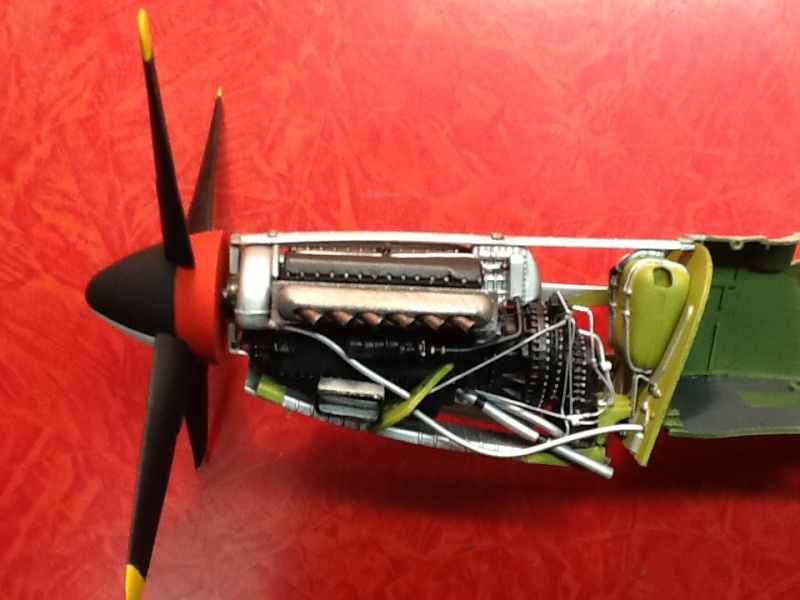 AIRFIX NORTH AMERICAN P 51 D MUSTANG 1/24ème Ref 14001 Airfi124