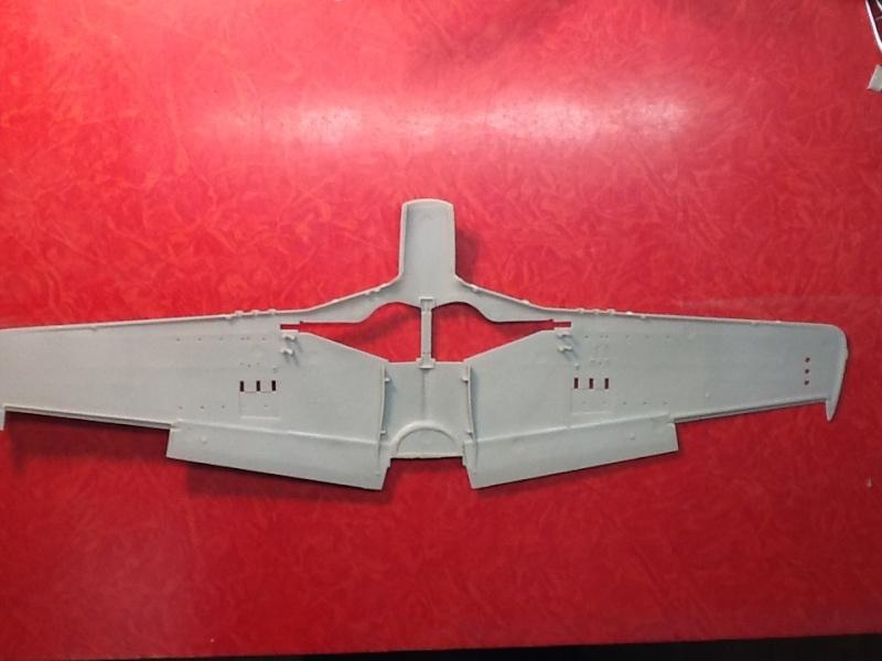 AIRFIX NORTH AMERICAN P 51 D MUSTANG 1/24ème Ref 14001 Airfi156
