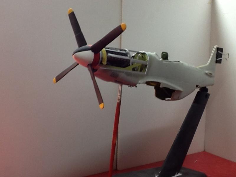 AIRFIX NORTH AMERICAN P 51 D MUSTANG 1/24ème Ref 14001 Airfi167