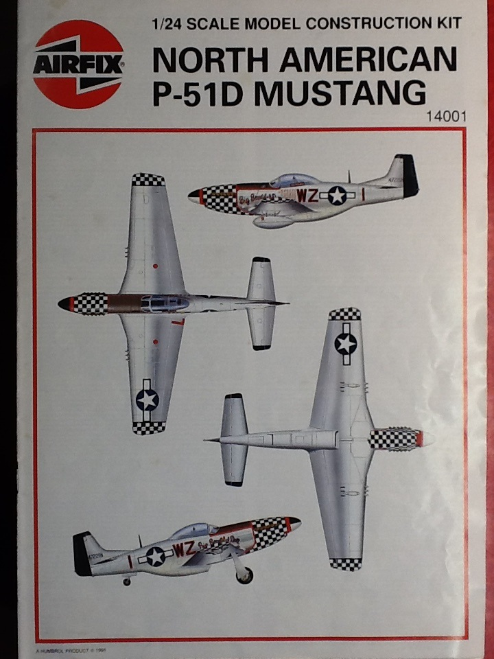 AIRFIX NORTH AMERICAN P 51 D MUSTANG 1/24ème Ref 14001 Airfix93