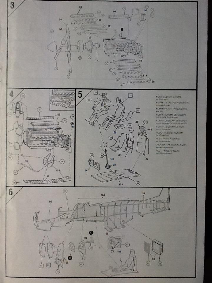 AIRFIX NORTH AMERICAN P 51 D MUSTANG 1/24ème Ref 14001 Airfix97