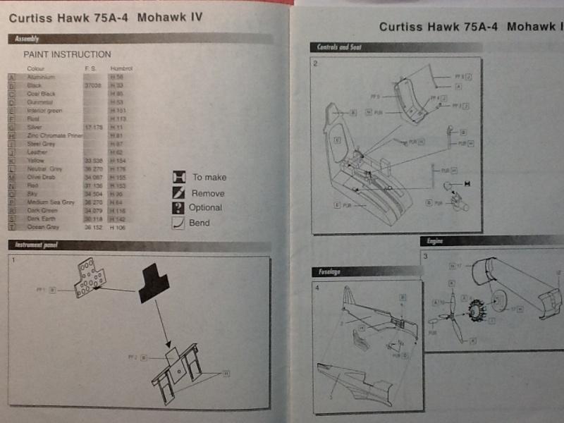 Comparatif et différence entre les différenets CURTISS HAWK et P 36 en ma possession au 1/72ème Aml_cu12