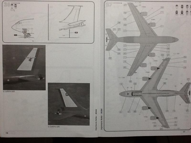 BOEING C 135 FR 1/72ème Ref 80384 Helle118