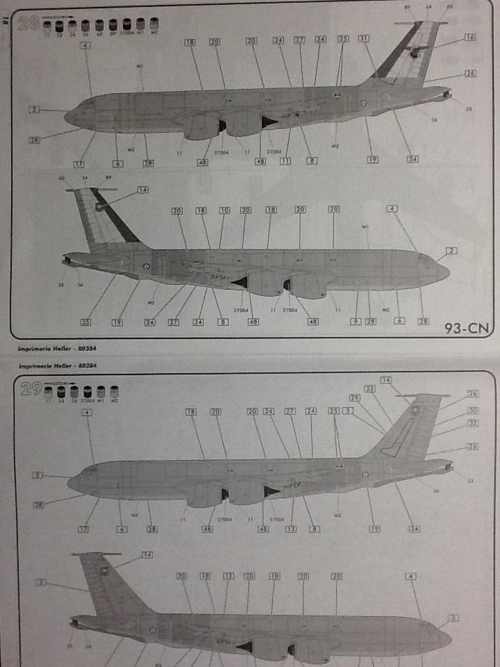BOEING C 135 FR 1/72ème Ref 80384 Helle119