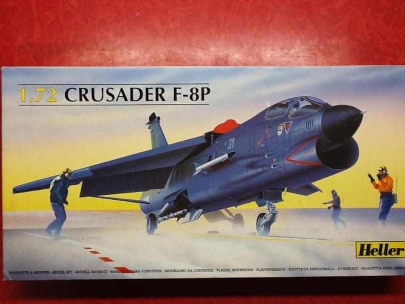 CRUSADER - LING TEMCO VOUGHT F-8P  CRUSADER 1/72ème Réf 80326 Helle170