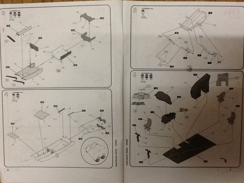 SUD AVIATION - BRITISH AIRCRAFT CORPORATION  CONCORDE 1/72ème Réf 52903 Notice Helle188