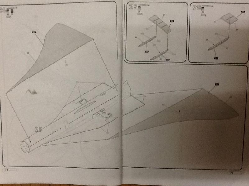 SUD AVIATION - BRITISH AIRCRAFT CORPORATION  CONCORDE 1/72ème Réf 52903 Notice Helle193