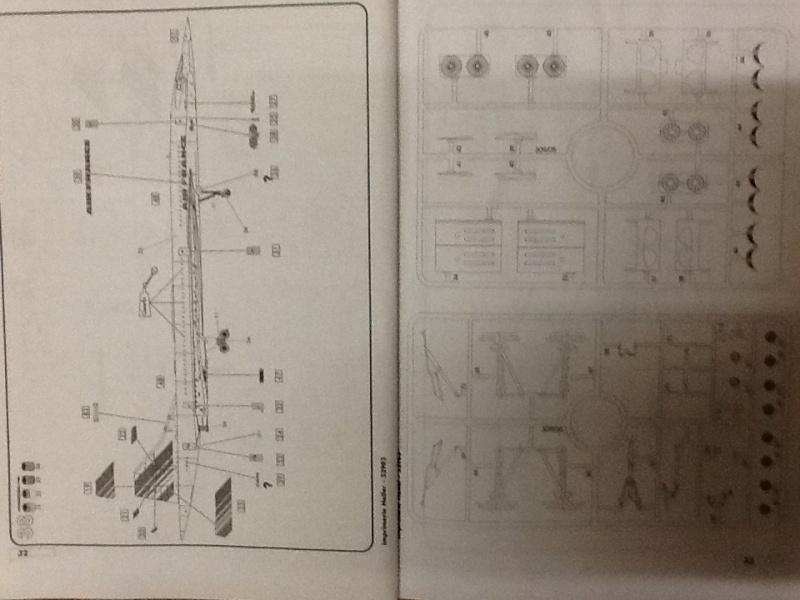 SUD AVIATION - BRITISH AIRCRAFT CORPORATION  CONCORDE 1/72ème Réf 52903 Notice Helle203