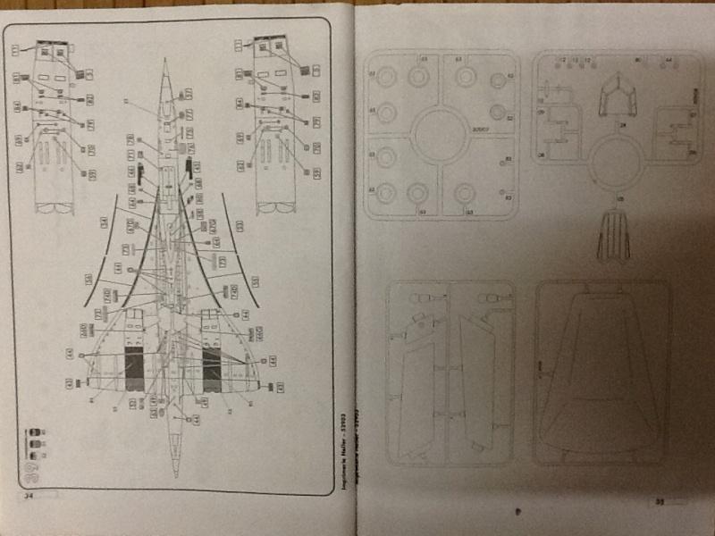 SUD AVIATION - BRITISH AIRCRAFT CORPORATION  CONCORDE 1/72ème Réf 52903 Notice Helle204