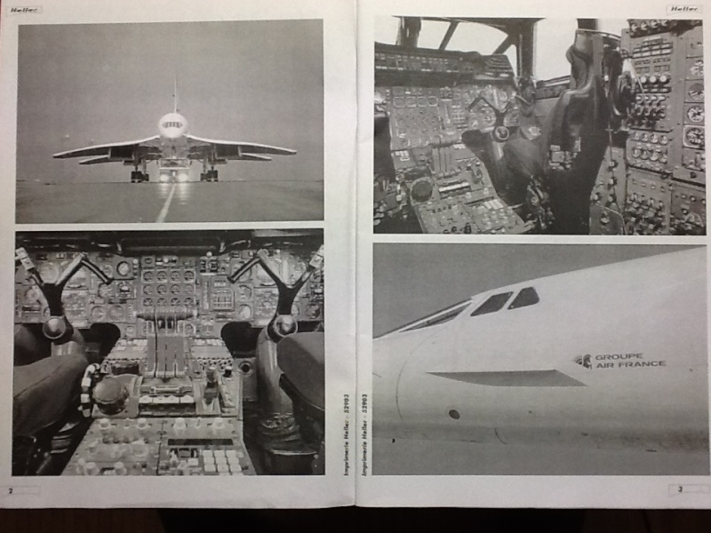 SUD AVIATION - BRITISH AIRCRAFT CORPORATION  CONCORDE 1/72ème Réf 52903 Notice Helle206