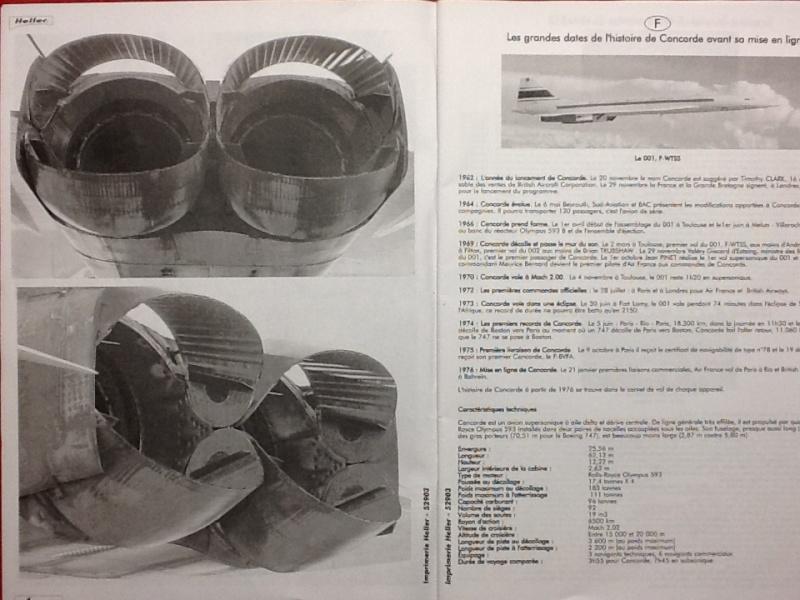 SUD AVIATION - BRITISH AIRCRAFT CORPORATION  CONCORDE 1/72ème Réf 52903 Notice Helle207