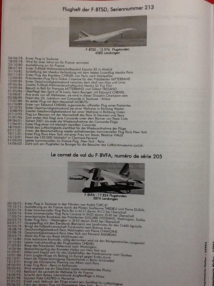 SUD AVIATION - BRITISH AIRCRAFT CORPORATION  CONCORDE 1/72ème Réf 52903 Notice Helle217