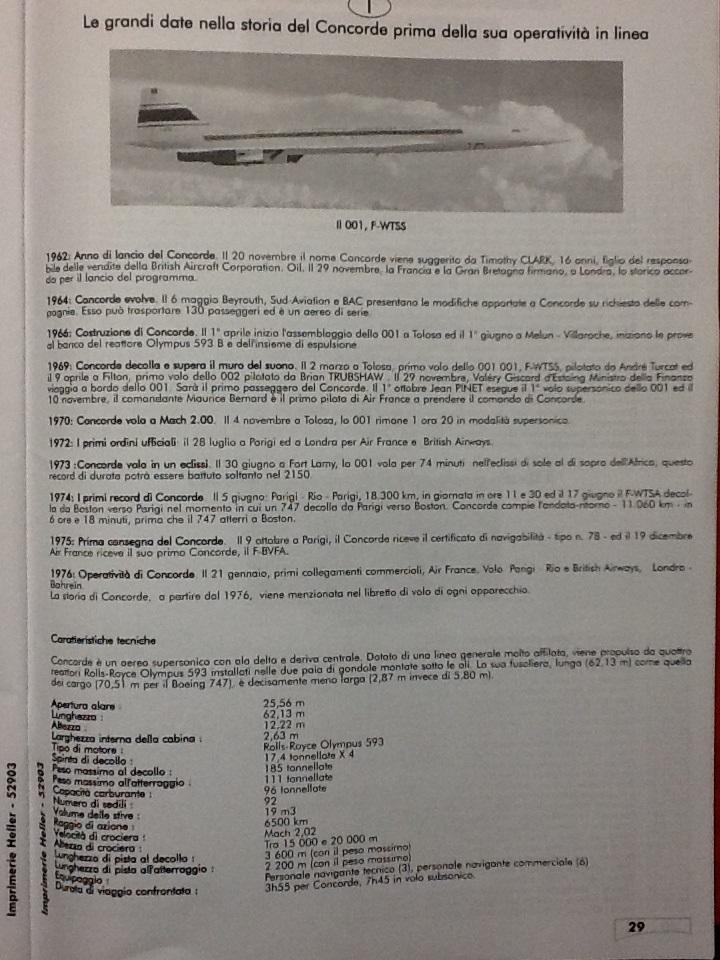 SUD AVIATION - BRITISH AIRCRAFT CORPORATION  CONCORDE 1/72ème Réf 52903 Notice Helle232