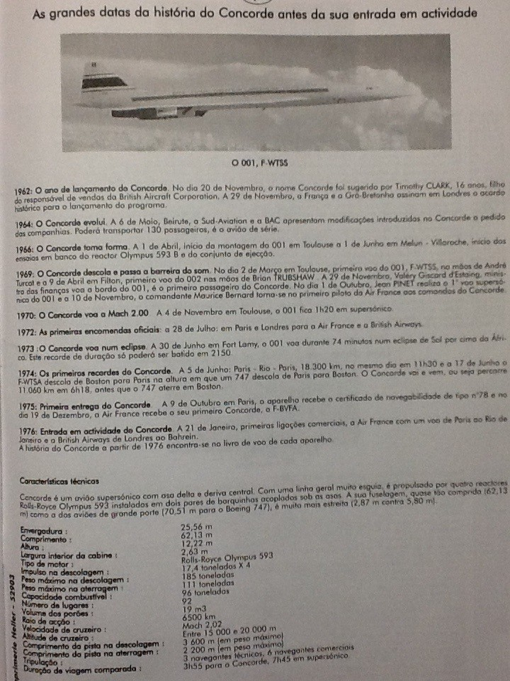 SUD AVIATION - BRITISH AIRCRAFT CORPORATION  CONCORDE 1/72ème Réf 52903 Notice Helle236