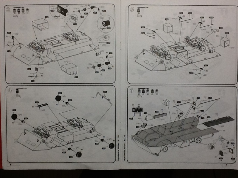 VAB 4X4 1/35ème Ref81130 Notice Helle562