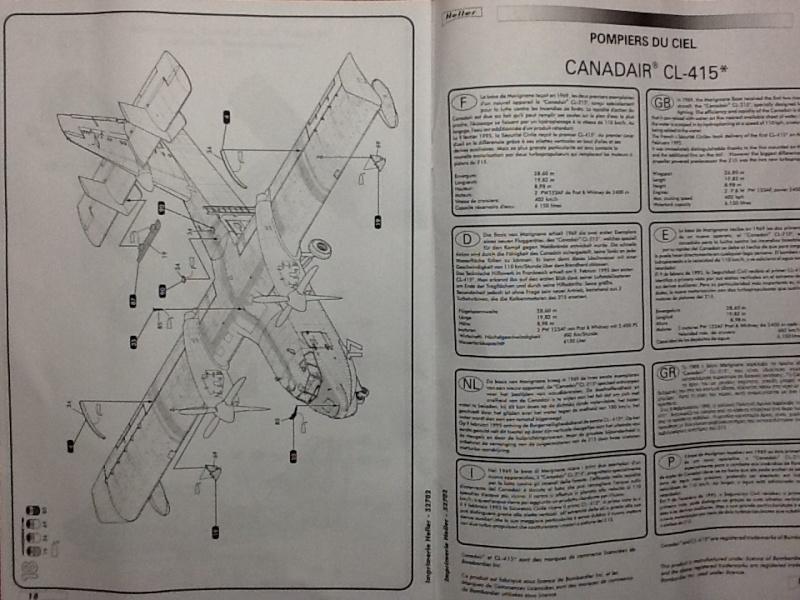 CANADAIR CL 415 1/72ème Ref 52702 Helle602