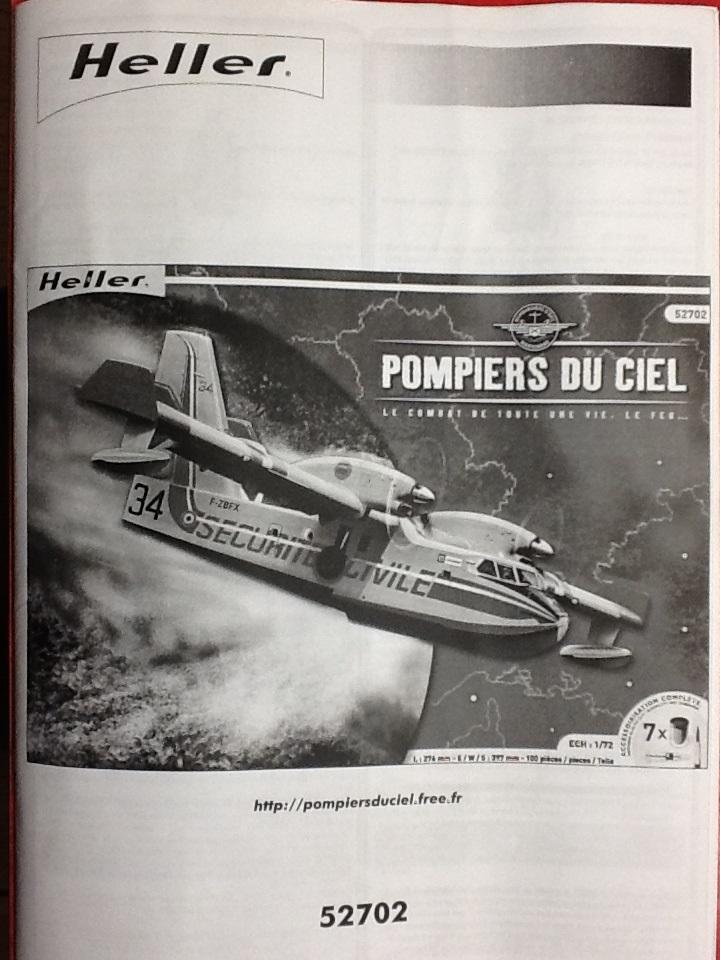 CANADAIR CL 415 1/72ème Ref 52702 Helle603