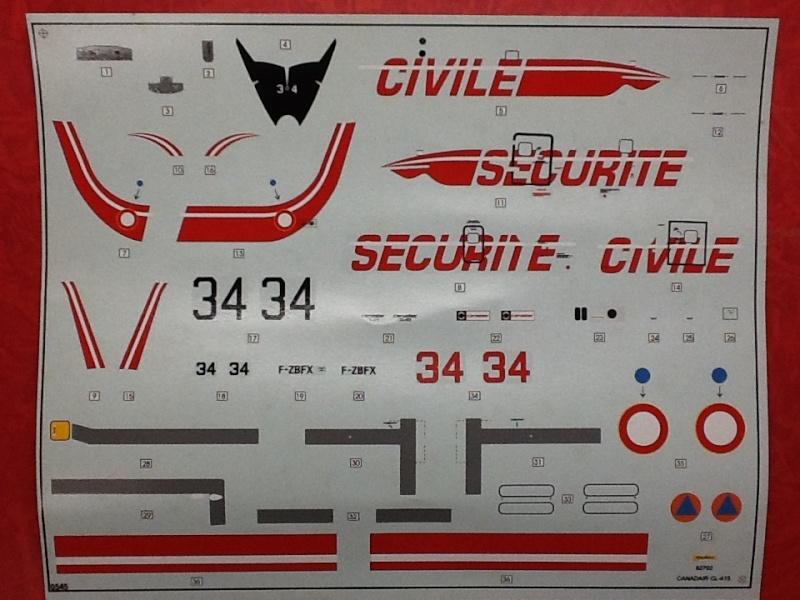 CANADAIR CL 415 1/72ème Ref 52702 Helle616