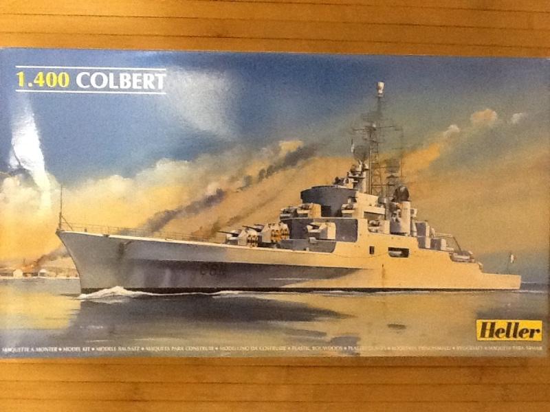 Croiseur Le COLBERT 1/400ème Ref Helle696