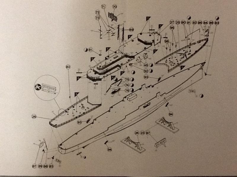 Croiseur Le COLBERT 1/400ème Ref Helle698