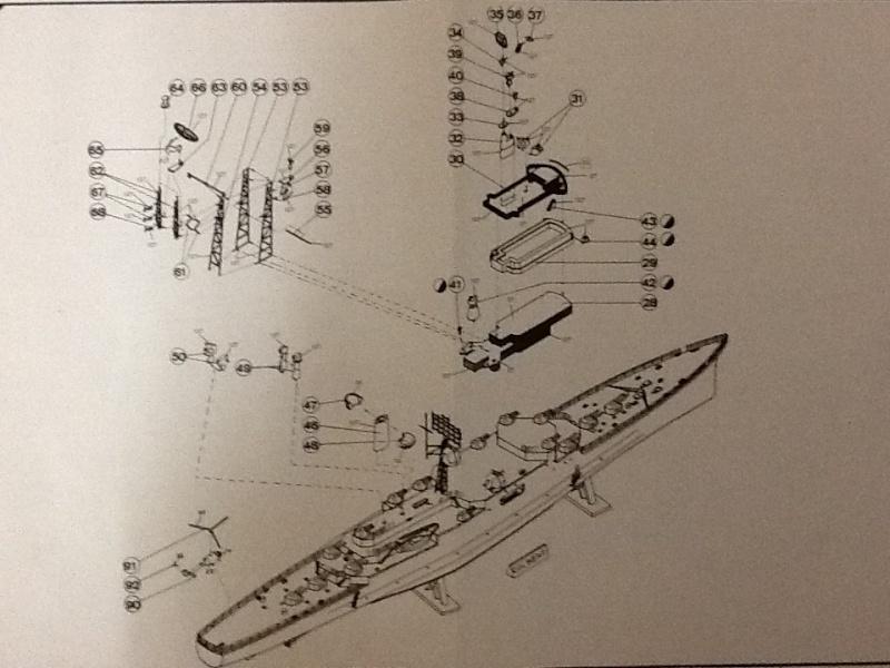 Croiseur Le COLBERT 1/400ème Ref Helle699