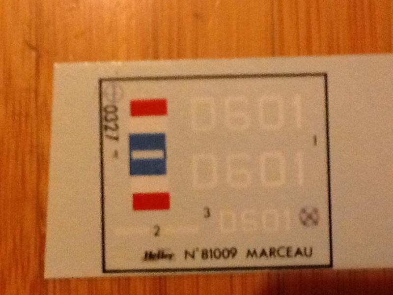 Escorteur MARCEAU 1/400ème Réf 81009 Helle752