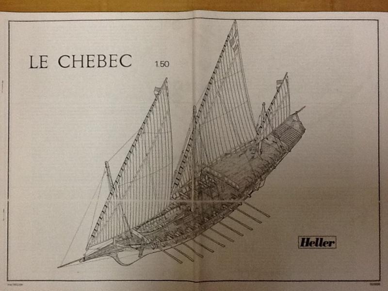 Chebec Le CHEBEC 1/50ème réf 80896 Notice Helle777