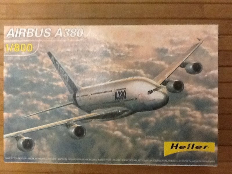 AIRBUS A 380 1/800 Ref 79844 Heller16