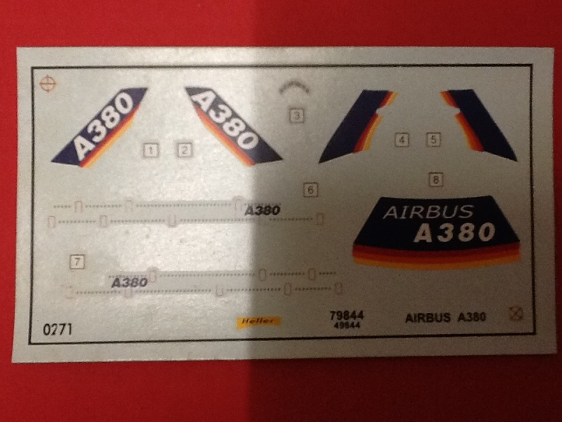 AIRBUS A 380 1/800 Ref 79844 Heller25