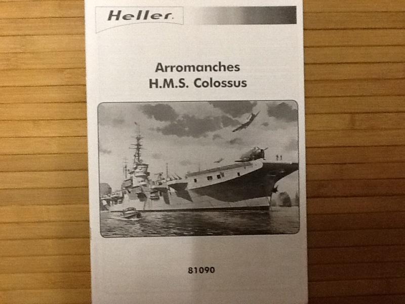 Porte avions ARROMANCHES 1/400ème Ref 81090 Heller48