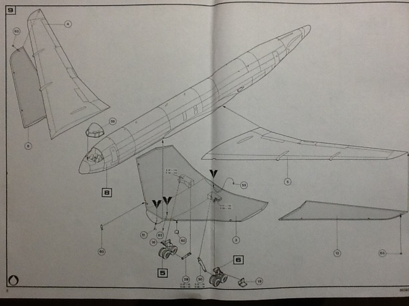 BOEING AWACS 1/72ème Ref 80383 Heller87
