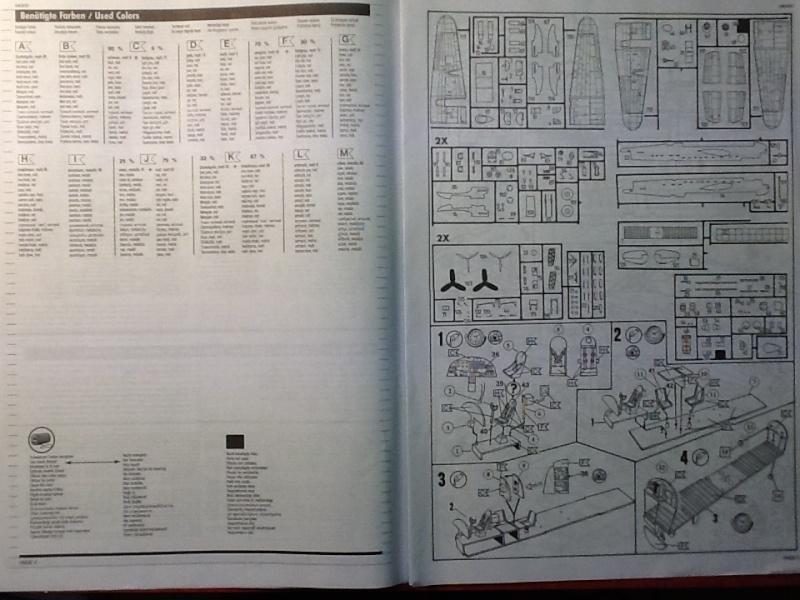 Comparatif AVRO LANCASTER B1 SPECIAL vs AVRO LANCASTER BIII DAM BUSTER 1/72èmeme Revell35