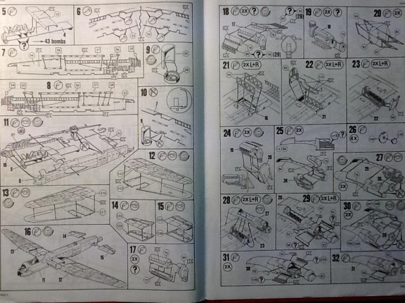 Comparatif AVRO LANCASTER B1 SPECIAL vs AVRO LANCASTER BIII DAM BUSTER 1/72èmeme Revell36