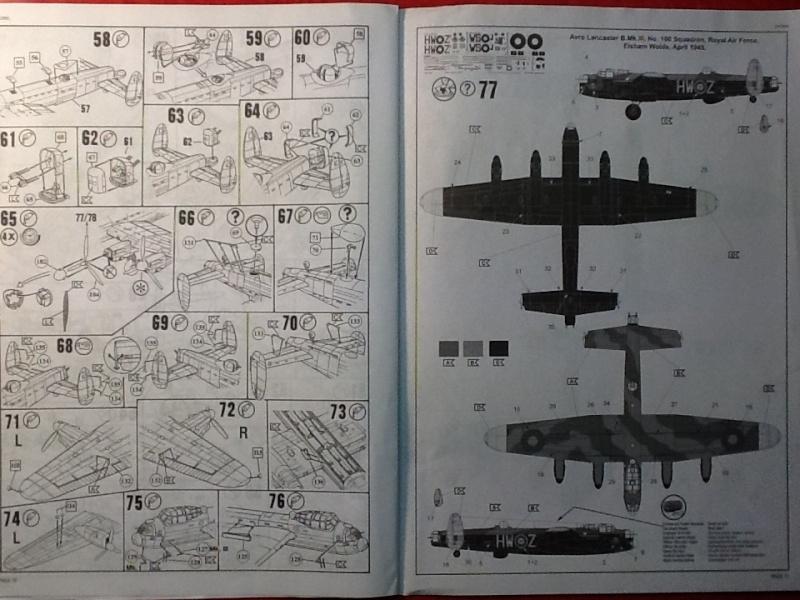 Comparatif AVRO LANCASTER B1 SPECIAL vs AVRO LANCASTER BIII DAM BUSTER 1/72èmeme Revell38