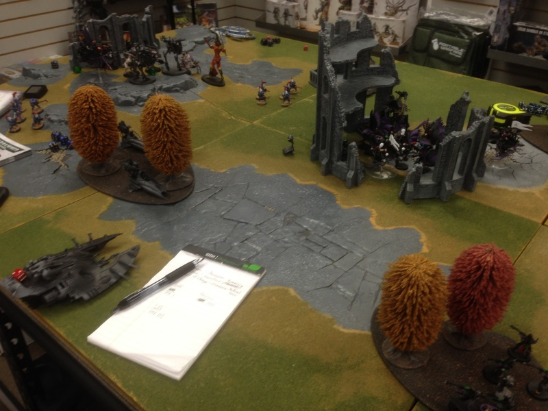 Coven Heavy Dark Eldar vs Eldar 2015-026
