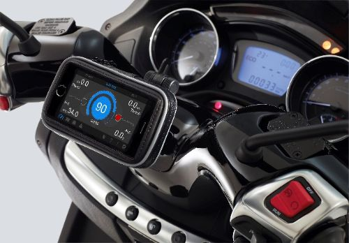 Kit support TomTom/Garmin et smartphone pour Piaggio MP3 Kit-mp10
