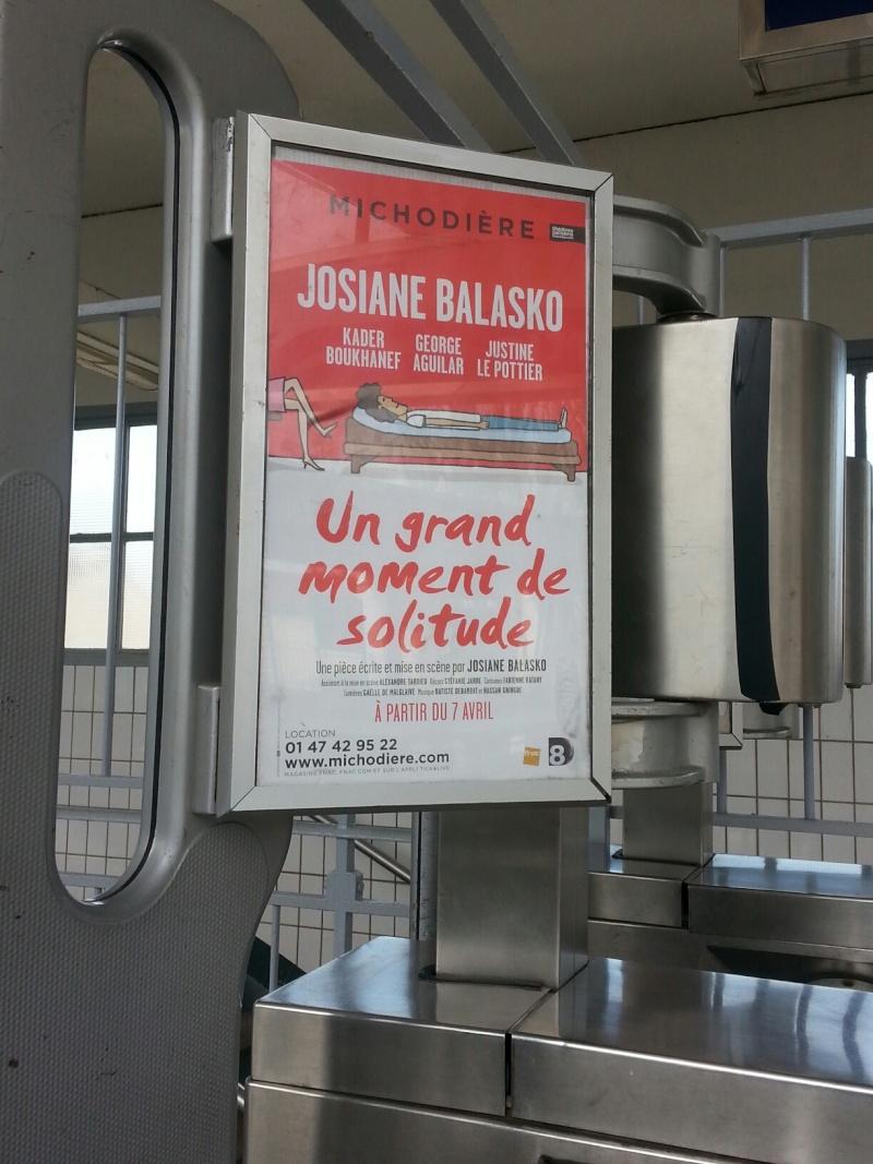 """[Théâtre] """"Un grand moment de solitude"""" avec Justine Le Pottier (2015) - Page 2 20150311"""