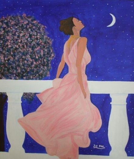 La femme et la Lune ...  - Page 4 Peintu11