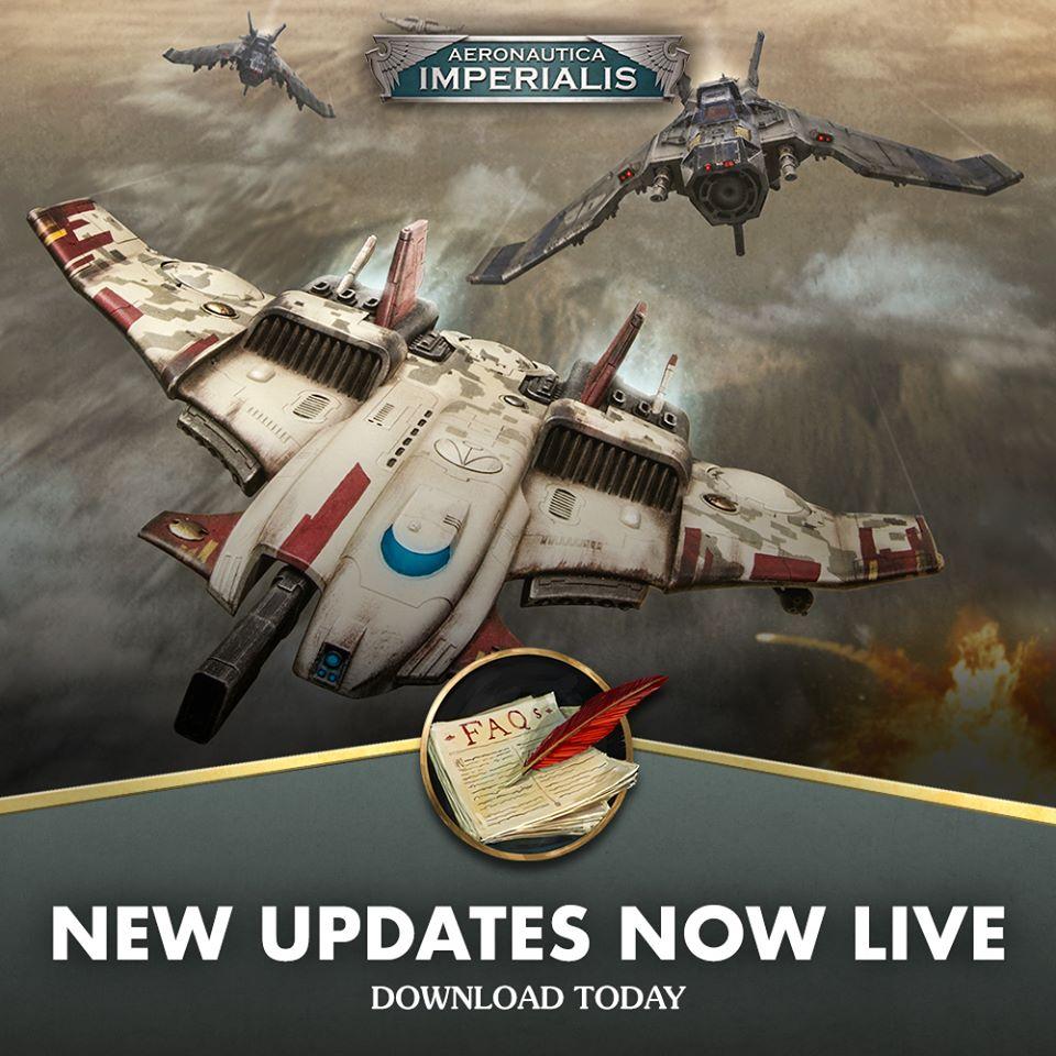 Règles et FAQ Aeronautica Imperialis 10667110