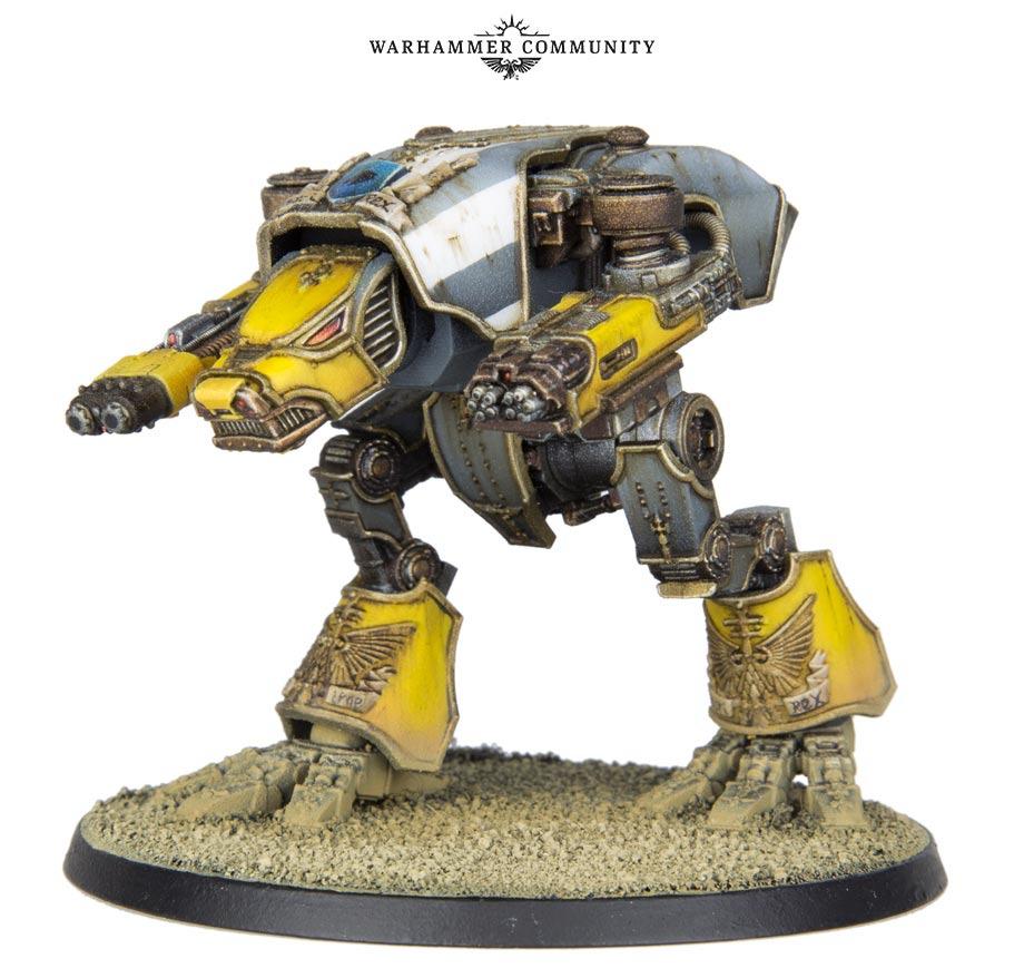 Le Warhound a travers les âges 12106810