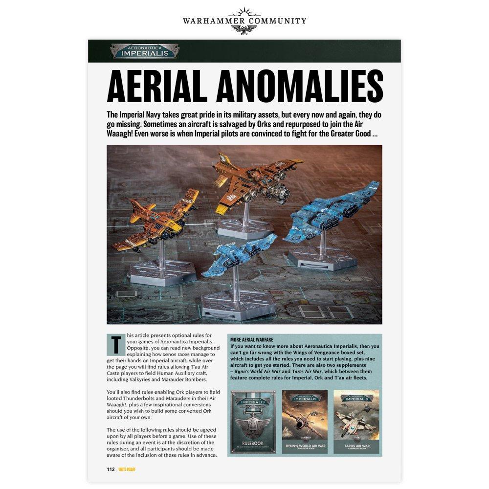 Anomalies Aériennes (WD 459) 12821810
