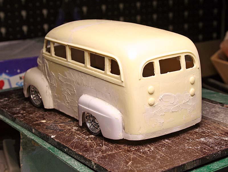 "FORD 1948 COE ""short bus"" woody : le WIP (suite du 18/04/15) Img_9012"