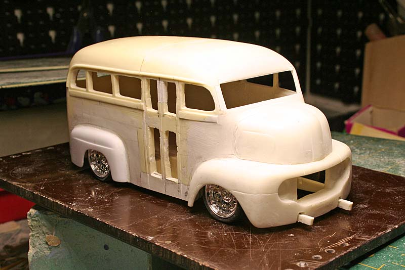 """FORD 1948 COE """"short bus"""" woody : le WIP (suite du 18/04/15) - Page 2 Img_9048"""