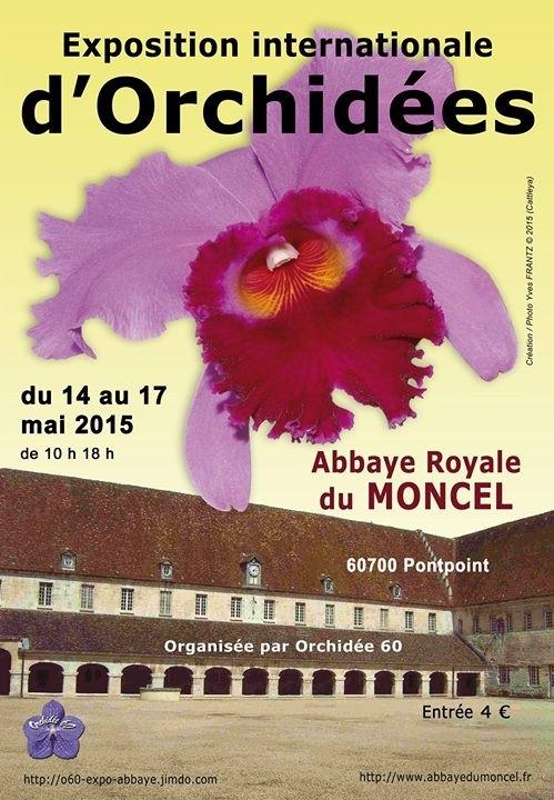 exposition du 14/05/15 au 17/05/15 à l'abbaye du Moncel (Oise) Affich10
