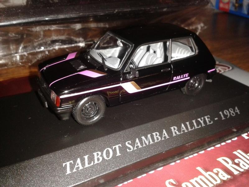 Samba Rallye noir 1/43éme  20150311