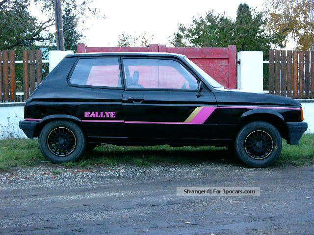 Samba Rallye noir 1/43éme  Talbot10