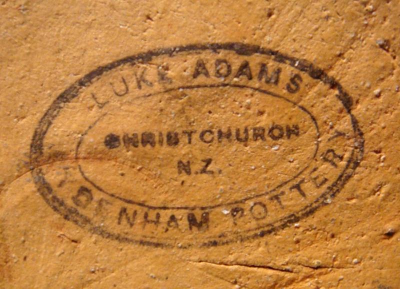 Luke Adams stamp - Sydenham Pottery  Dsc02710