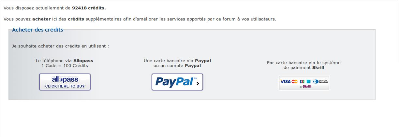 [Résolu] Email de skryll étrange après achats de crédits. Framer10