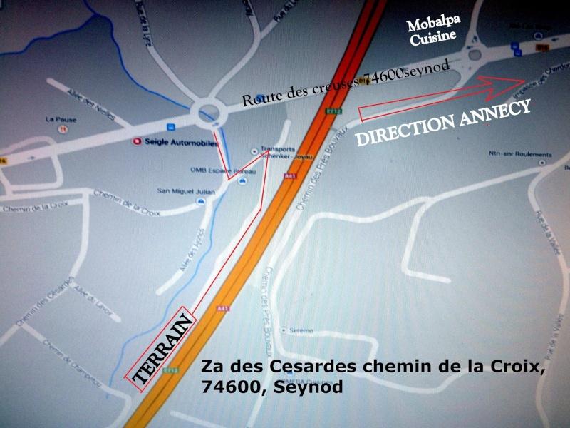 ZA des Cézardes - Chemin de la croix - 74600 Seynod 10991610